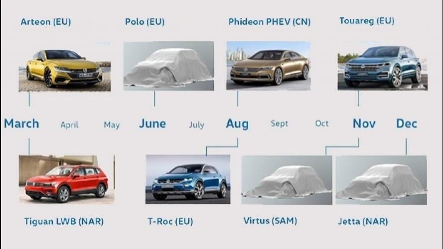 Volkswagen, tutte le novità del 2017