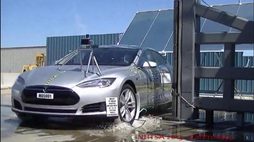 Le auto elettriche non sono più pericolose di quelle normali