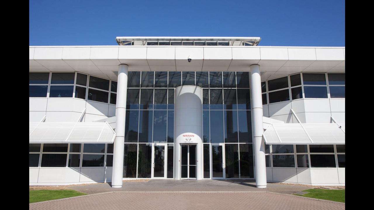 Nissan Technical Centre Europe, test