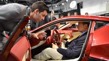 Rimac Concept One, HRH Prince Albert II, Top Marques Monaco 30.04.2012