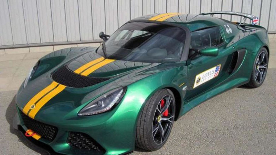 Lotus Exige V6 Cup announced