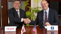 GM and Teijin carbon fiber agreement - 08.12.2011