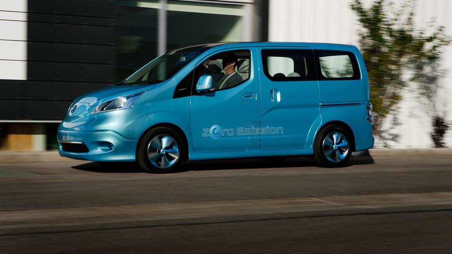 Nissan e-NV200 confirmed for production