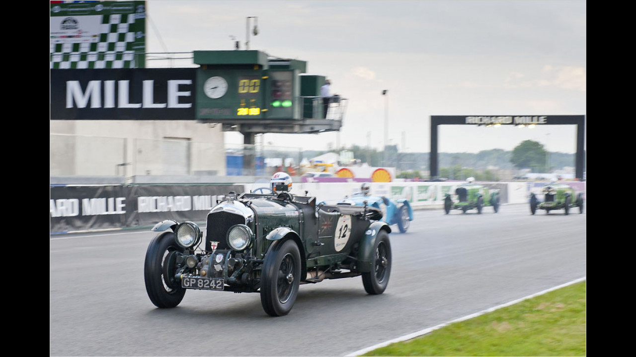 1928: Bentley 4,5 Litre, 1929/1930: Bentley Speed Six