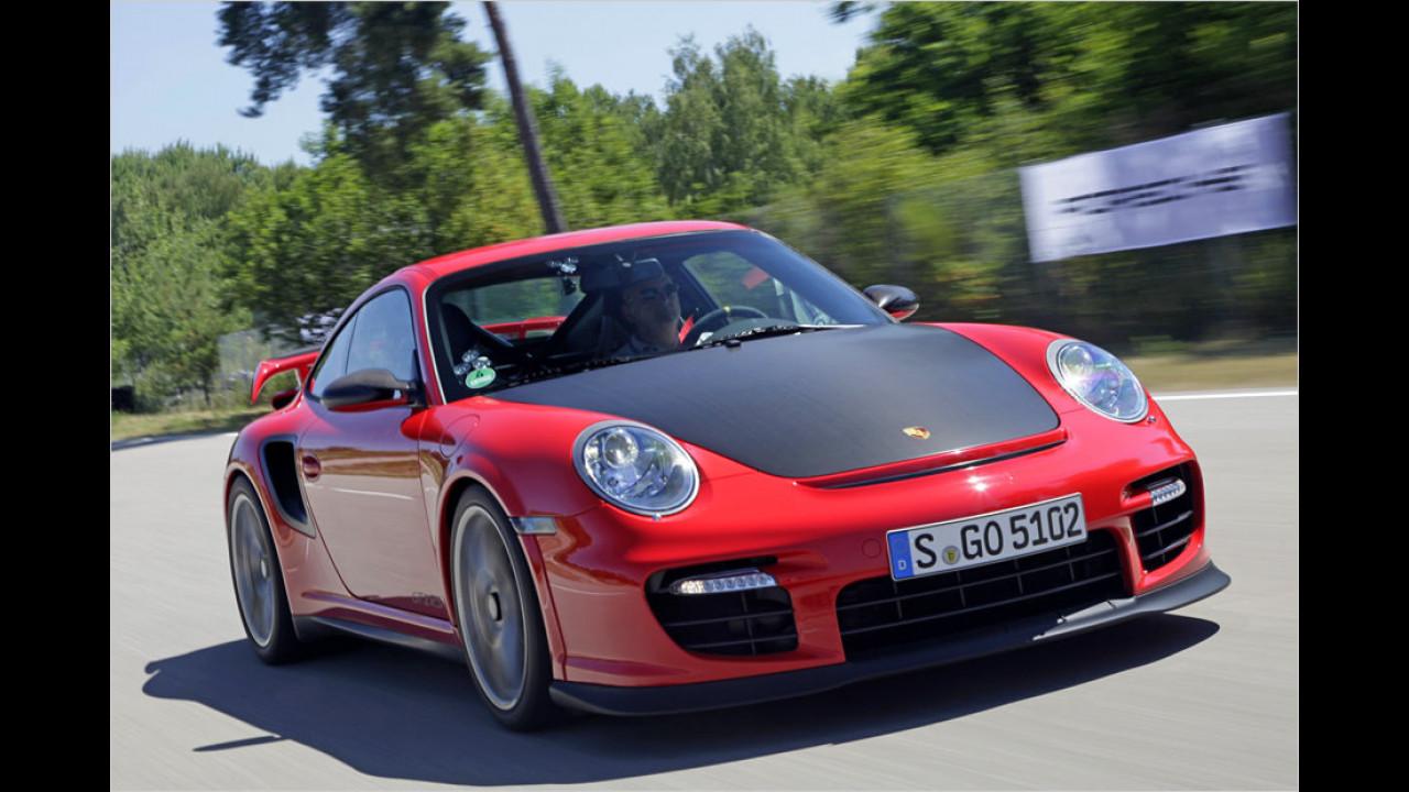 Porsche 911 GT2 RS, Horst von Saurma, 2010