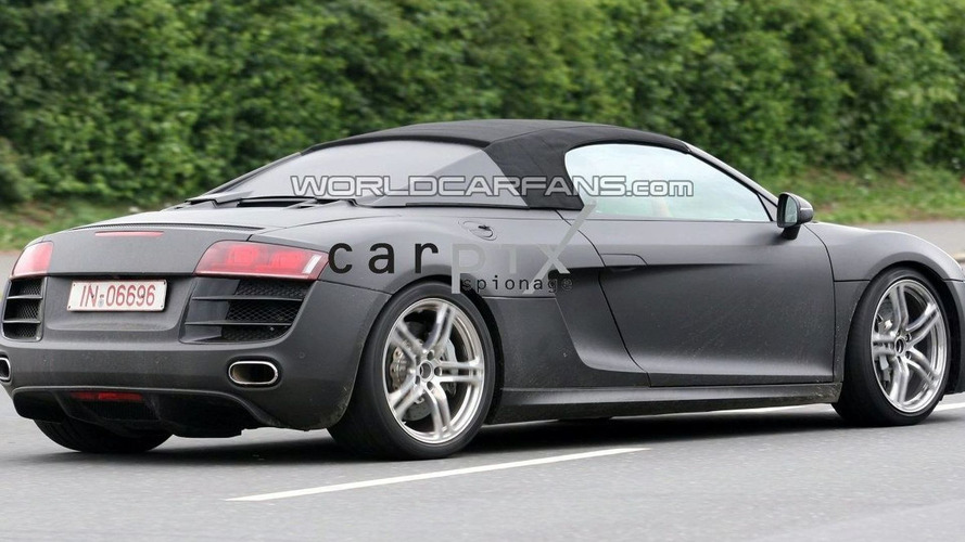 Audi R8 Targa First Spy Shots