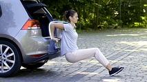 VW roadtrip workout