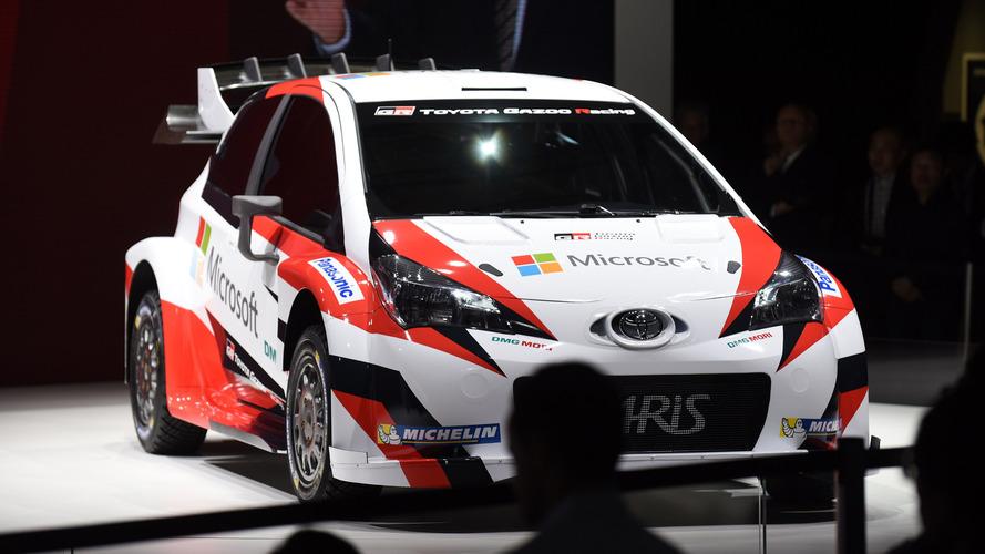 Toyota'nın WRC'ye dönüş aracı Yaris WRC Paris Otomobil Fuar'ında tanıtıldı