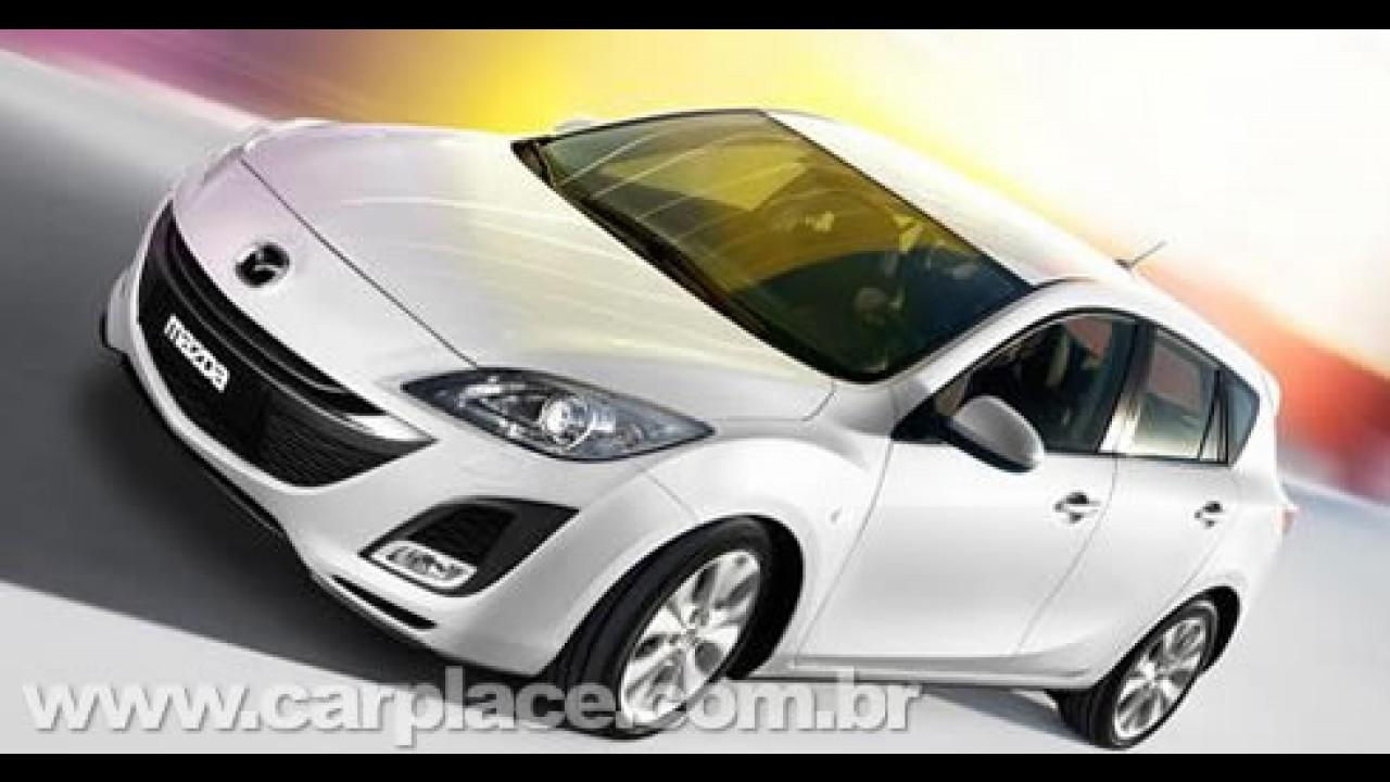 Novas versões Mazda3 MPS e i-stop serão apresentados no Salão de Genebra