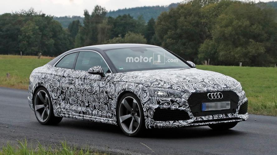 Audi RS5 kamuflaj altında objektiflere yakalandı