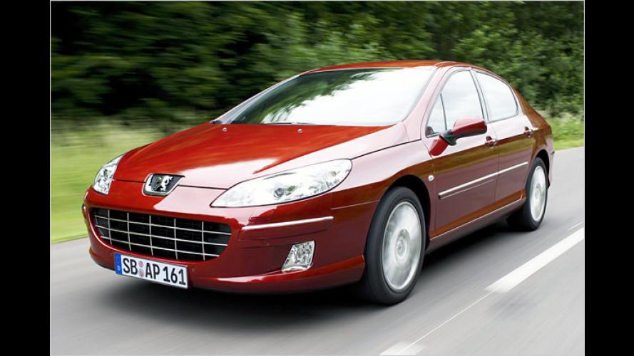 Peugeot 407: Gestrafftes Programm