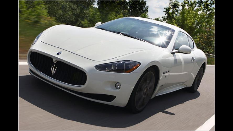 Maserati GranTurismo S: Ein Teufelsritt auf dem Dreizack