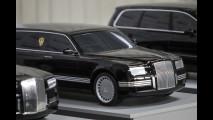 Vladimir Putin, prime immagini della limousine 2016