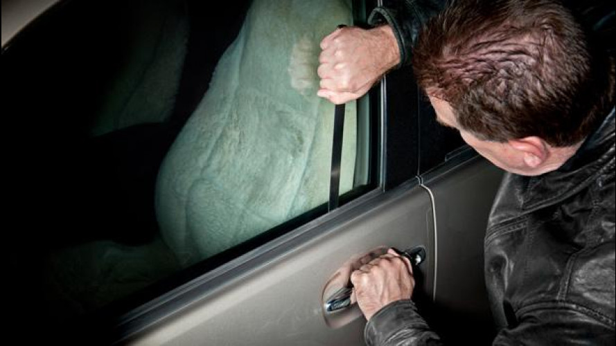 Furti d'auto: la classifica delle Regioni più a rischio