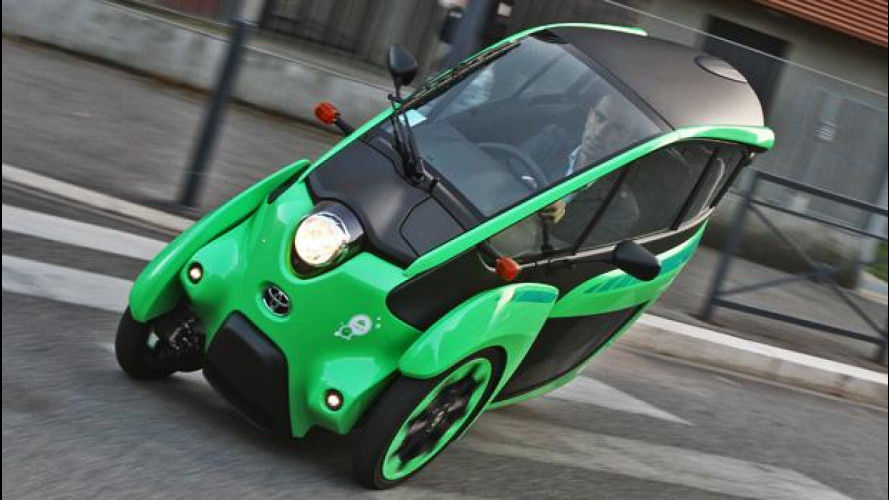 Toyota i-Road, come ti