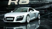 Audi R8 premiere in Paris
