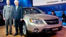 Mr.Ishigami and Mr.Doll - New Subaru Outback