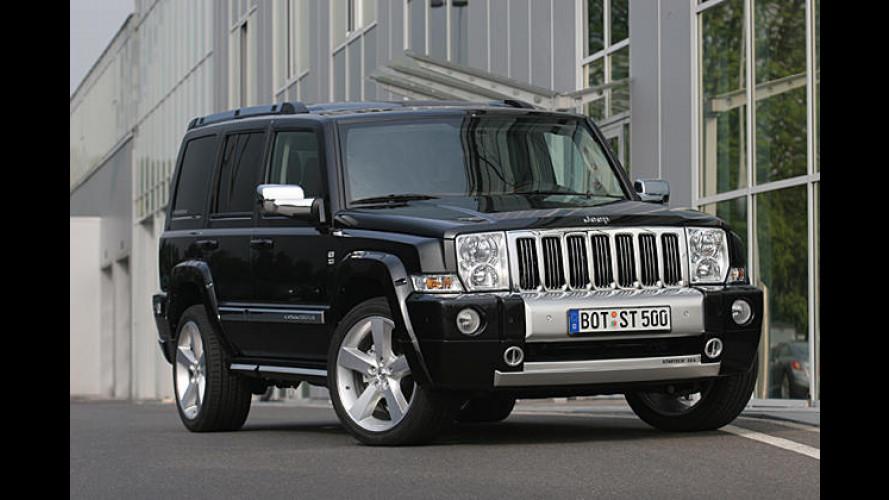 Schliff für den Chef: Startech tunt den Jeep Commander