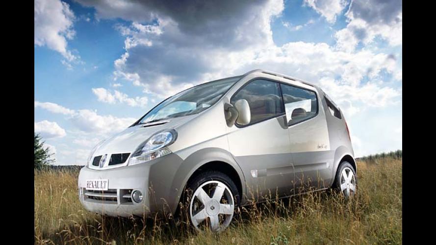 Renault: Studie Trafic Deck`up: Pickup auf Französisch