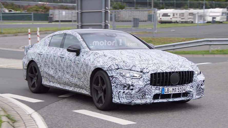 AMG GT 4 portes Spy Photos