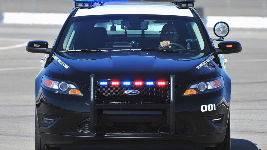 All-New 2012 Ford Taurus Interceptor Police Car Revealed