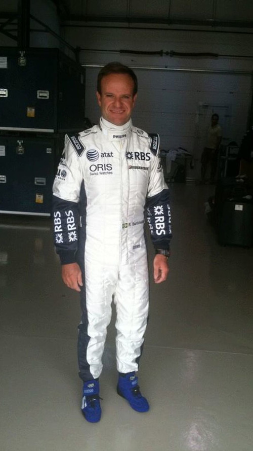 Barrichello to test on 1 February in Spain