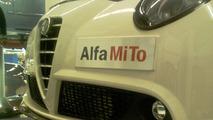 Alfa Romeo MiTo Veloce spy photo