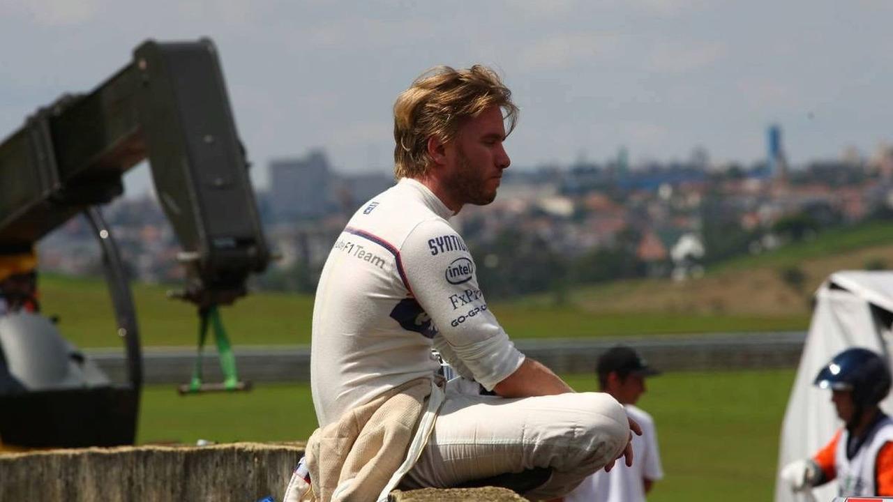 Nick Heidfeld (GER), BMW Sauber F1 Team, Brazilian Grand Prix, Sunday Race, 18.10.2009 Sao Paulo, Brazil