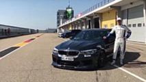 AC Schnitzer BMW M5 at Sachsenring