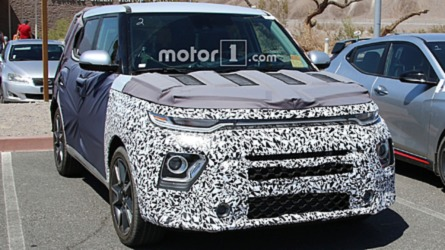 2019 Kia Soul Turbo Spied Showing Its Fresh Face