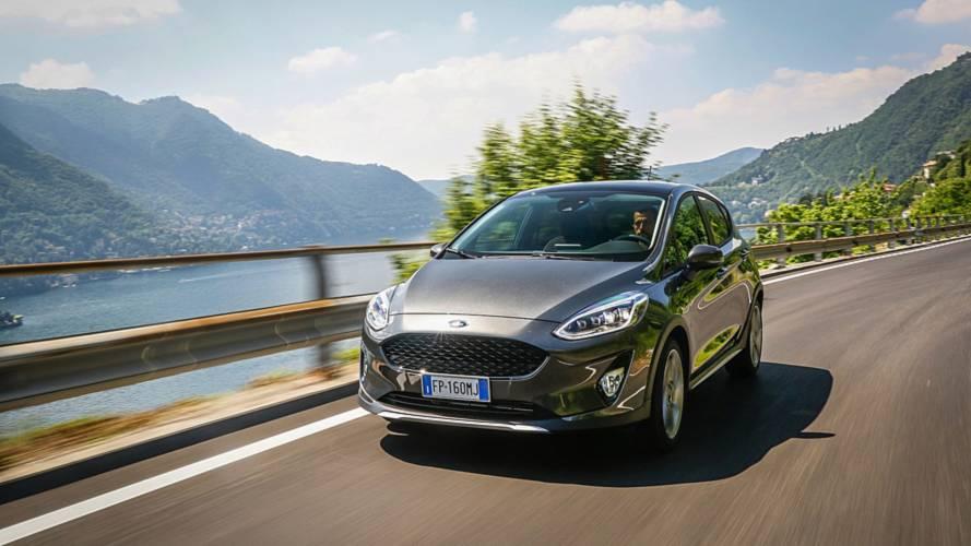Ford Fiesta Active Drive in Italy Lago di Como