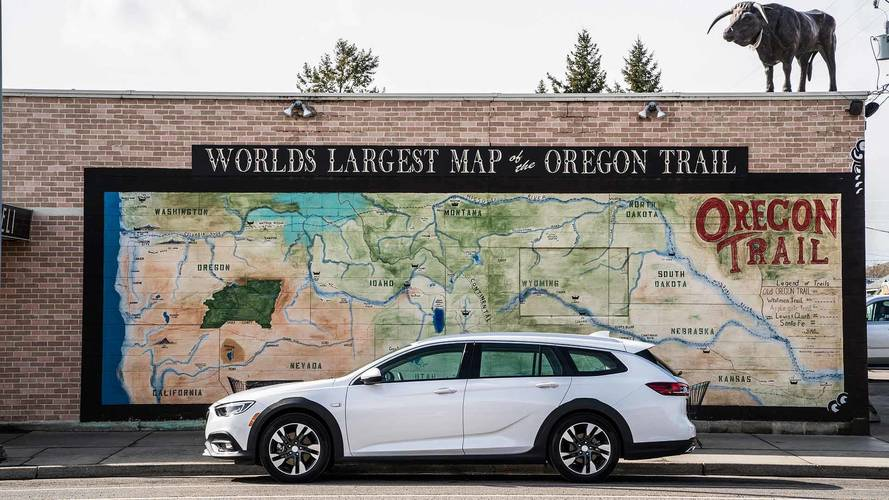 Driving A Buick Regal TourX To Play Oregon Trail In Real Life