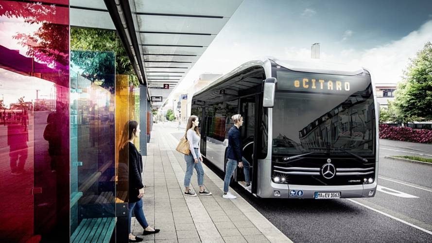 Mercedes eCitaro Is An Electric, Locally Emission-Free City Bus