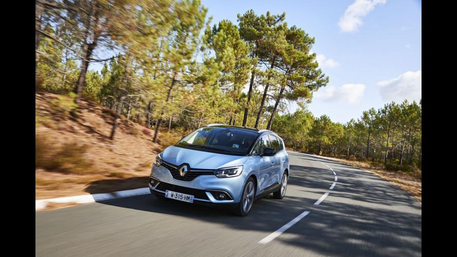 Renault Scenic e Grand Scenic, ora anche ibride