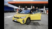 Road to Motor Show, il viaggio in Kia Stonic