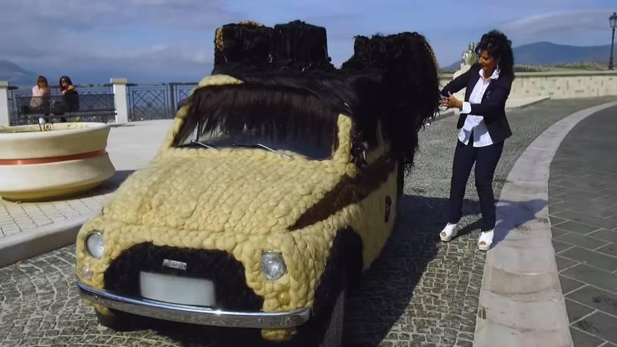 Fiat 500 cheveux