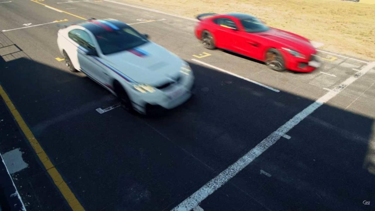 BMW M4 DTM vs. Mercedes-AMG GT R