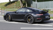 2016 Porsche 911 Turbo facelift spy photo