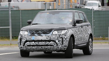 Range Rover Sport facelift spy photo