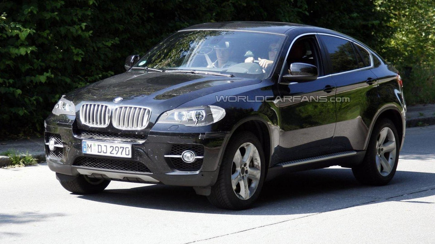2012 bmw x6 facelift shows its new 39 angel eyes 39. Black Bedroom Furniture Sets. Home Design Ideas