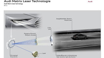 Future Audi lighting system could use Car-to-X technologies