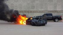 Procharged C6 Grand Sport crash