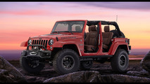Jeep Wrangler Red Rock concept introduced, previews a new special edition