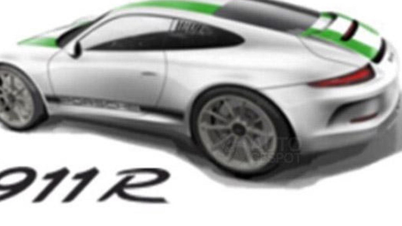 2016 Porsche 911 R (not confirmed)