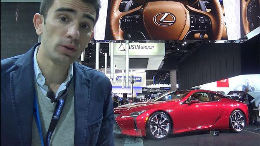 Lexus LC 500, in attesa dell'ibrida [VIDEO]