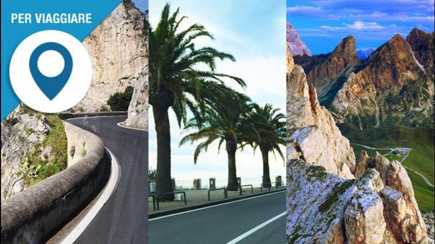 Le 10 strade più belle d'Italia