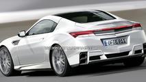 New Honda NSX artist rendering