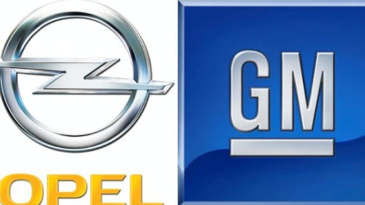Opel GM logos