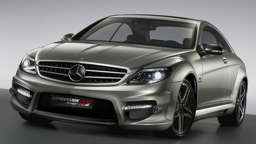Mercedes-Benz CL 65 AMG wide body kit by Expression Motorsport