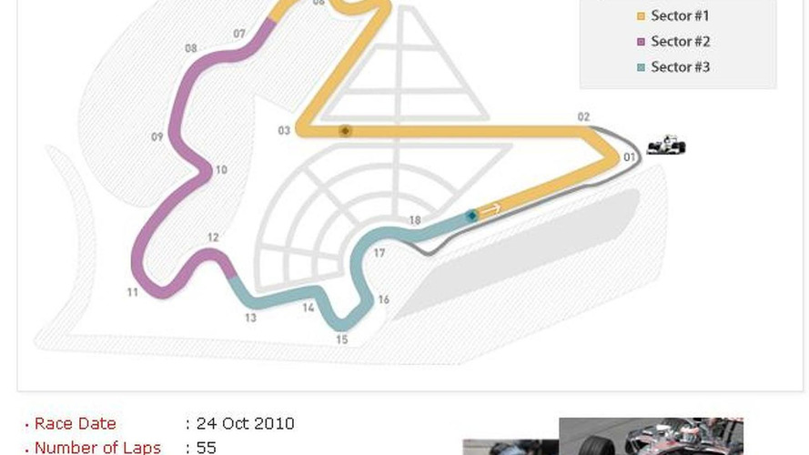 Korea F1 track to host first races next month